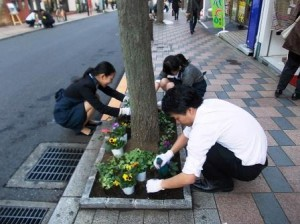 田調花植え三井住友