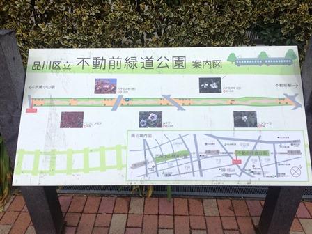 ⑨不動前緑道公園案内図9