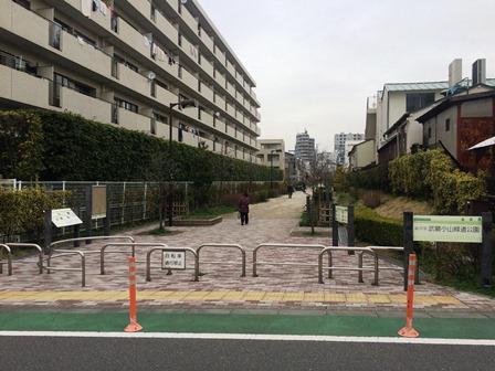 ①武蔵小山緑道公園入口①