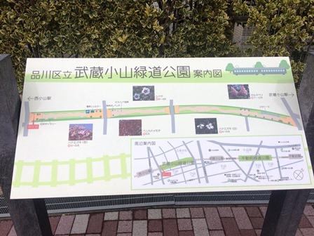 ②武蔵小山緑道公園案内図②