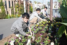 東京農大の学生さんたち